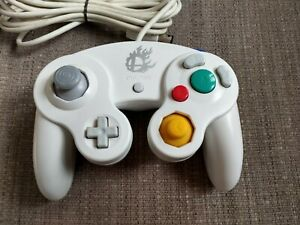 Nintendo Super Smash Bros. Gamecube  White Controller