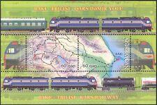 Azerbaijan 2012 Trains/Railway/Rail/Locomotives/Transport/Maps 2v m/s (n44151)