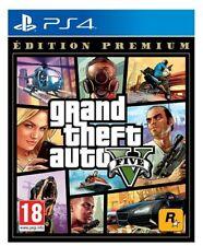 Grand Theft Auto V Edition Premium PS4 Jeux  VOSTF Divertissement Aventure