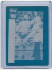 1/1 THE BARBARIAN WWE 1991 CLASSIC PRINTING PRESS PLATE WRESTLING CARD WF 1 of 1