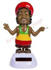 Figurine Rastafari solaire dansant achat/vente déco véhicule pas chère neuf