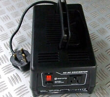 More details for uk to usa ac power voltage converter 230v to 110v max 300 watts 3 pin us socket