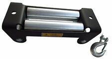 "RUGCEL Winch Roller Fairlead - 10"" Universal Mount with 3/8 hook"
