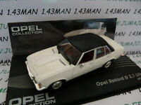 OPE65R voiture 1/43 IXO eagle moss OPEL collection Rekord D 1973/1977 2,1 litres