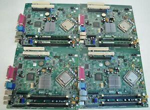 Lot of 4 Dell 0200DY Optiplex 780 Motherboard w/ Core 2 Duo E7500 CPU + 4GB RAM