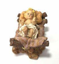 BABY JESUS Creche Nativity FIGURINE Replacement Manger Christmas Decoration