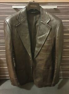GUCCI LUXURY LEATHER JACKET NP€3200