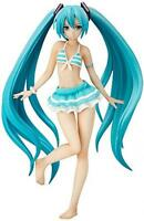 NEW Character Vocal Series 01 Hatsune Miku Swimsuit Ver 1/12Scale Pvc Figure /B1