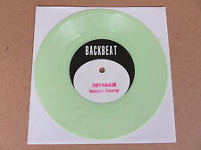 "SUPERGRASS Mansize Rooster BACKBEAT RARE 1994 UK 1ST PRESSING GREEN VINYL 7"""