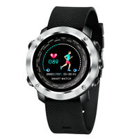 Multi-function Waterproof Sports Bluetooth 4.0 Smart Watch Heart Rate Monitor US