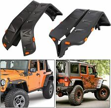 Maple4x4 2007-2018 Jeep Wrangler JK Pocket Style Riveted Fender Flares