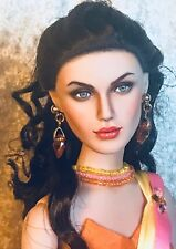 """Tonner RTW Antoinette Gina Doll OOAK repaint """"Ruby"""""""