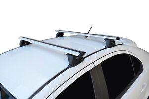 Alloy Roof Rack Cross Bar & Fitting Kit for Hyundai i30 07-17 Hatch FD GD 120cm