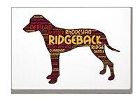 Rhodesian Ridgeback Art Print Word Art A4A3 Mothers Day Gift Personalised Option
