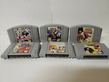 Lot Of 6 Nintendo 64 N64 Games Tested And Working