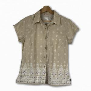 The North Face Women's Outdoor Shirt Hiking Shirt Size M Mountaineering Shirt