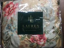 NEW Ralph Lauren Highfields Floral Gold QUEEN Bedskirt