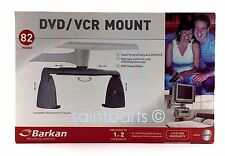 Barkan DVD VCR Mount Model 82 Silver Adjustable Satellite Receiver Cable Box
