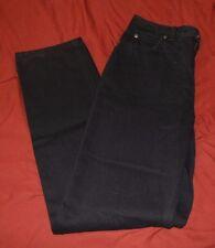 Lands' End Misses Black Jeans Size 6 NWT 31 inseam Natural Fit (5827)
