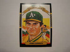 1987 Donruss #6 Jose Canseco Diamond King