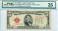 1928-E $5 Legal Tender Note MULE FR#1530m FP#H673 BP#637 PMG Very Fine 25