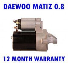 DAEWOO MATIZ 0.8 HATCHBACK 1998 1999 2000 2001 2002 - 2015 RMFD STARTER MOTOR