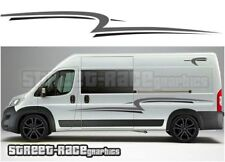 Motorhome Campervan 013 graphics stickers decal Fiat Ducato Citroen Relay Boxer