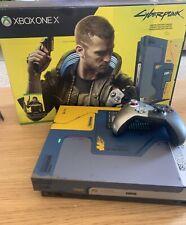 Microsoft Xbox One X Cyberpunk 2077 Limited Edition Console Bundle Open Box