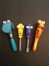 Disney Handy Manny Dancing Tool Box Replacement Lot 4  Hammer Screwdriver Wrench
