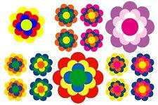 Bügelbild Aufbügler Transferbild Retro Pril Blumen alle Stoffe A5 oder A4