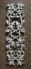 "Vtg Decorative Trellis Arbor Sections Oak Leaves/Acorns Cast Aluminum 33"" x 11"""