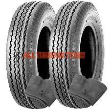 4.80/4.00-8 Trailer Tyres & Tubes 6 Ply High Speed or Wheelbarrow 4.00x8 400x8