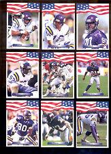 1992 AW Minnesota Vikings Set CRIS CARTER RICH GANNON CHRIS DOLEMAN ZIMMERMAN