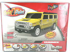 KIDS CAST AND PAINT H2 HUMMER BODY SHOP CRAFT BOYS BRAND NEW 6+ MADE IN USA