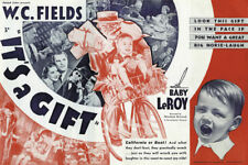 It's a gift Baby LeRoy 1934 vintage movie poster print