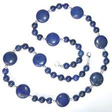 Handgefertigter Echtschmuck mit Lapis Lazuli-Halsketten & Anhänger für Damen