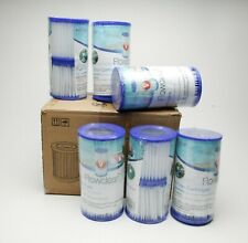 12 Bestway Flowclear Type V 330 GPH Replacement Filter Cartridges #58168E. NEW.