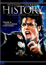NEW DVD - Michael Jackson History: The King of Pop 1958-2009