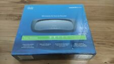 Linksys by Cisco Wireless-N Home Router Model WRT120N 4-Port 10/100 Ethernet NEW