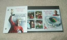 Gibraltar Football World Cup History 1966 - 2002 Bobby Moore Fund
