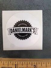 DANIEL MARK'S BREWING BREWERY BEER STICKER Wyoming Brew Ale Cheyenne Daniel Mark