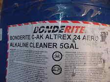 10 Gallon of Henkel Bonderite C-AK Altrex 24 Aero Alkaline Cleaner 2 x 5 Gal