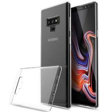 For Samsung Galaxy Note 9 Case Clear Gel Cover & Full Screen Protector