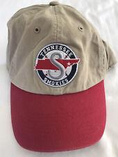 MiLB Tennessee Smokies '47 Brand Beige Closer Snapback Adjustable Back Hat Cap