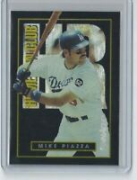 Mike Piazza - 1993 Pinnacle Home Run Club #26 - Los Angeles Dodgers - Rookie