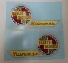 New Harley Gas Tank Decal Set 1957 Harley B Hummer 125  61769-57