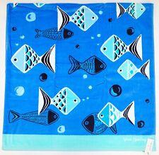 "New Vera Bradley Go Fish Blue 33"" x 66"" Beach Pool Towel"