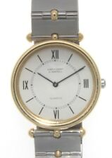 Van Cleef & Arpels Steel & 18K Yellow Gold Plated La Collection 29mm Watch