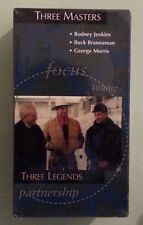 THREE MASTERS LEGENDS rodney jenkins buck brannaman vol iii  VHS VIDEOTAPE NEW