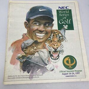 Tiger Woods 1997 Souvenir Newspaper Program *RARE*